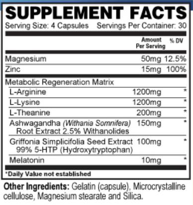 resurge ingredients
